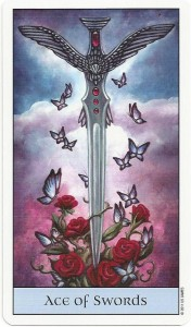 crystal visions tarot ace of swords