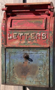 letter box for pick topic contest