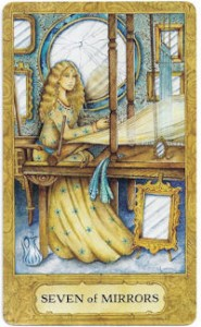 chrysalis tarot seven mirrors card