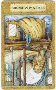 chrysalis tarot seven mirrors card reversed