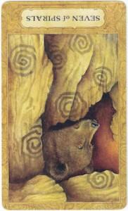 chrysalis tarot seven spirals card reversed
