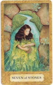 chrysalis tarot seven stones card