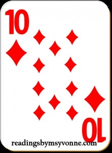 10 diamonds winner card contest