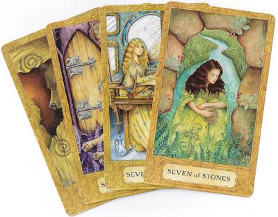 chrysalis tarot seven cards